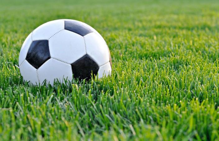 soccer ball grass